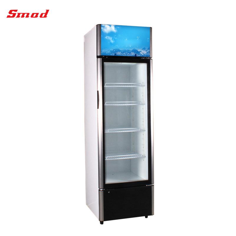 China Commercial Display Freezer Showcase Glass Door Refrigerator