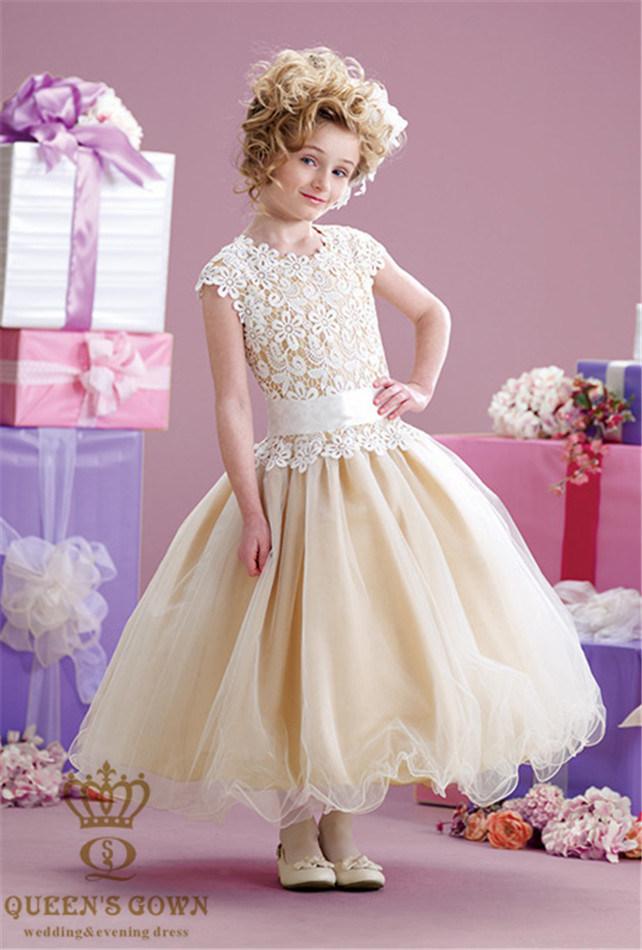 China New Marriage Wedding Flower Girl Dress - China Flower Girl ...