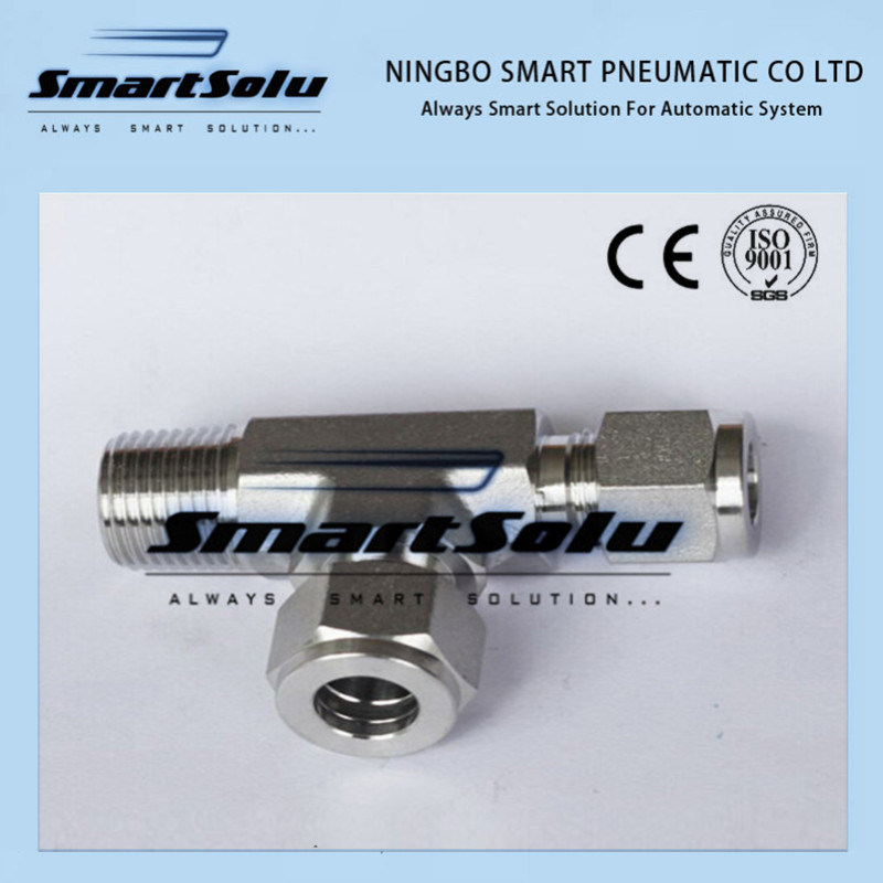 Comprssion Tee Tube Fitting, Swagelok Pipe Fitting pictures & photos