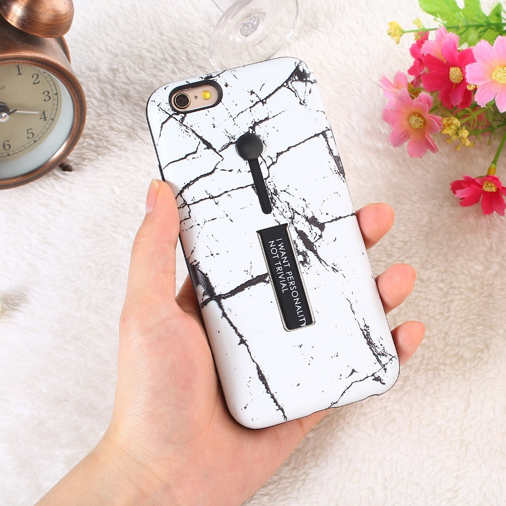 China Sinbeda Fashion Hide Ring Stand Holder Phone Case For Iphone 6