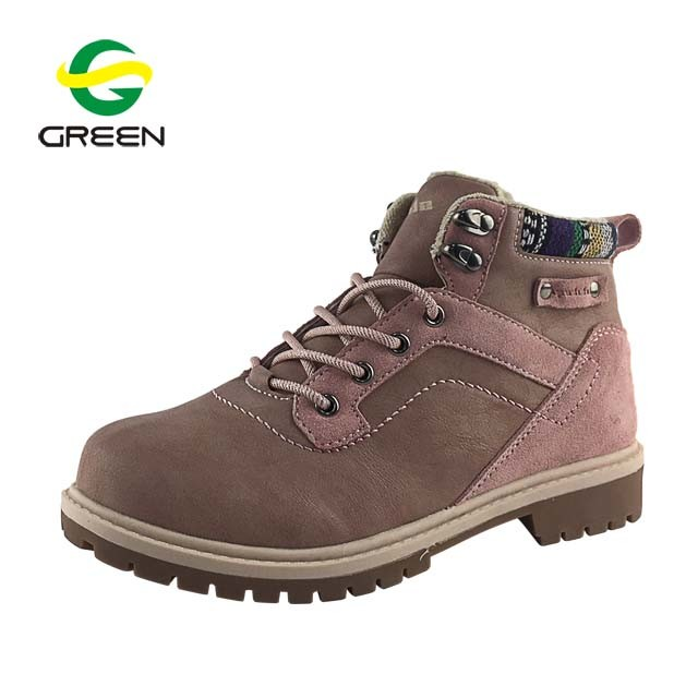 10aa34ea858 [Hot Item] Greenshoe New Arrival Dr Marten Boots Women, Pink Flat Boots  Women Shoes, Suede Ankle Boots Winter Shoes for Women