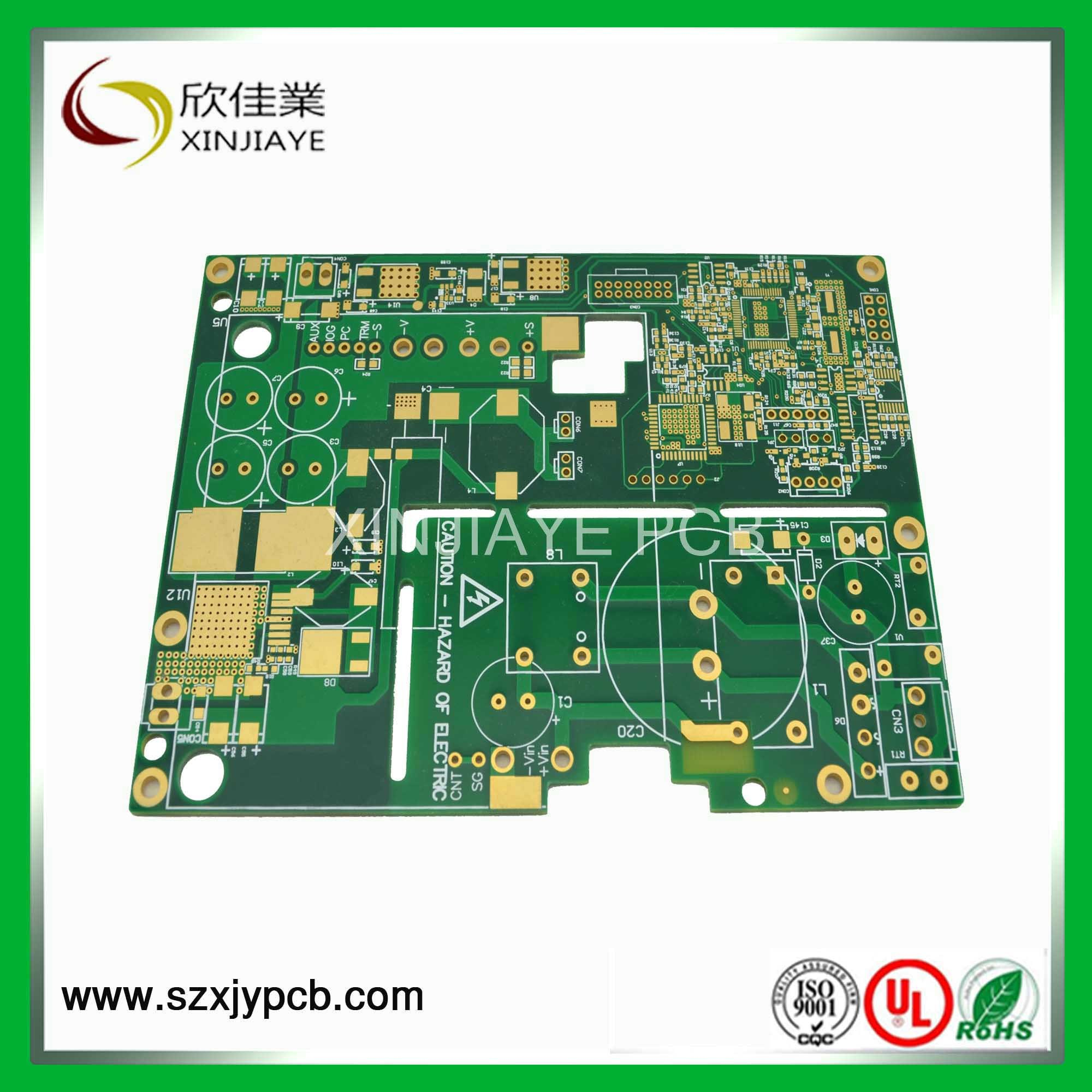 China Multilayer Pcb With Immersion Silver Printed Circuit Board Assemblyprinted Fabrication Ourpcb
