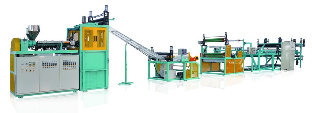 PP Plant Climbing Support Net Extruder pictures & photos