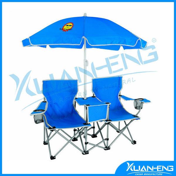 China Double Folding Chair Umbrella Table Cooler Fold up - China Beach Chair Quik Chair  sc 1 st  Ningbo Xuanheng Import u0026 Export Co. Ltd. & China Double Folding Chair Umbrella Table Cooler Fold up - China ...
