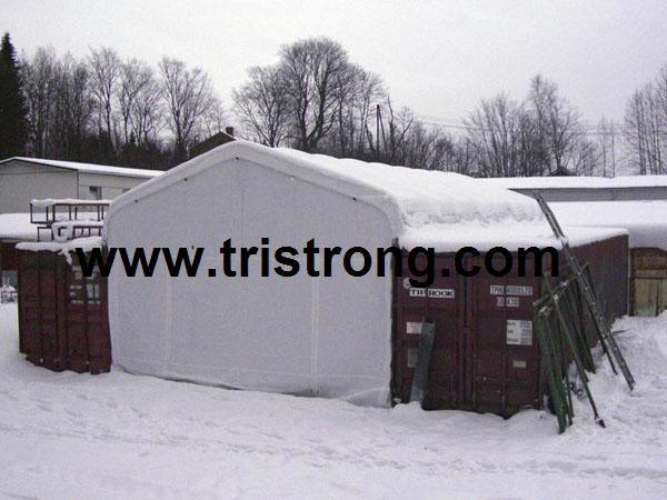 Outdoor Rain Shelter, Clear Span Container Tent (TSU-2020C/TSU-2040C)