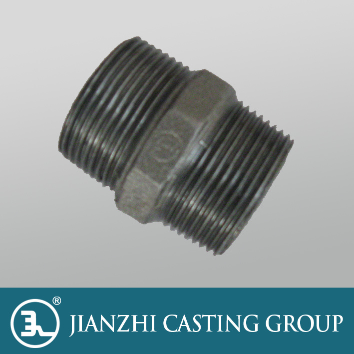 Malleable Iron Pipe Fitting Nipple pictures & photos