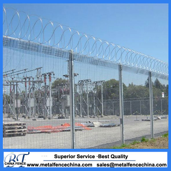 China 358 Security Fence 358 Anti-Climb Mesh Fence USD for Prison ...