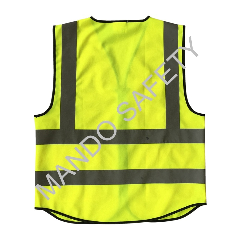 En20471 3m Reflective Tape Safety Vest with Pockets pictures & photos