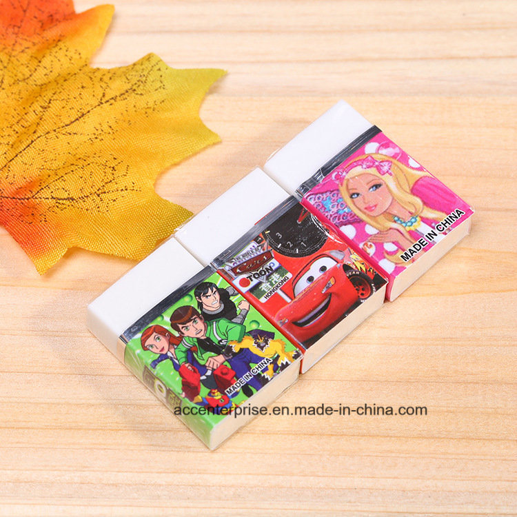 Wholesale Soft School and Office TPR White Eraser