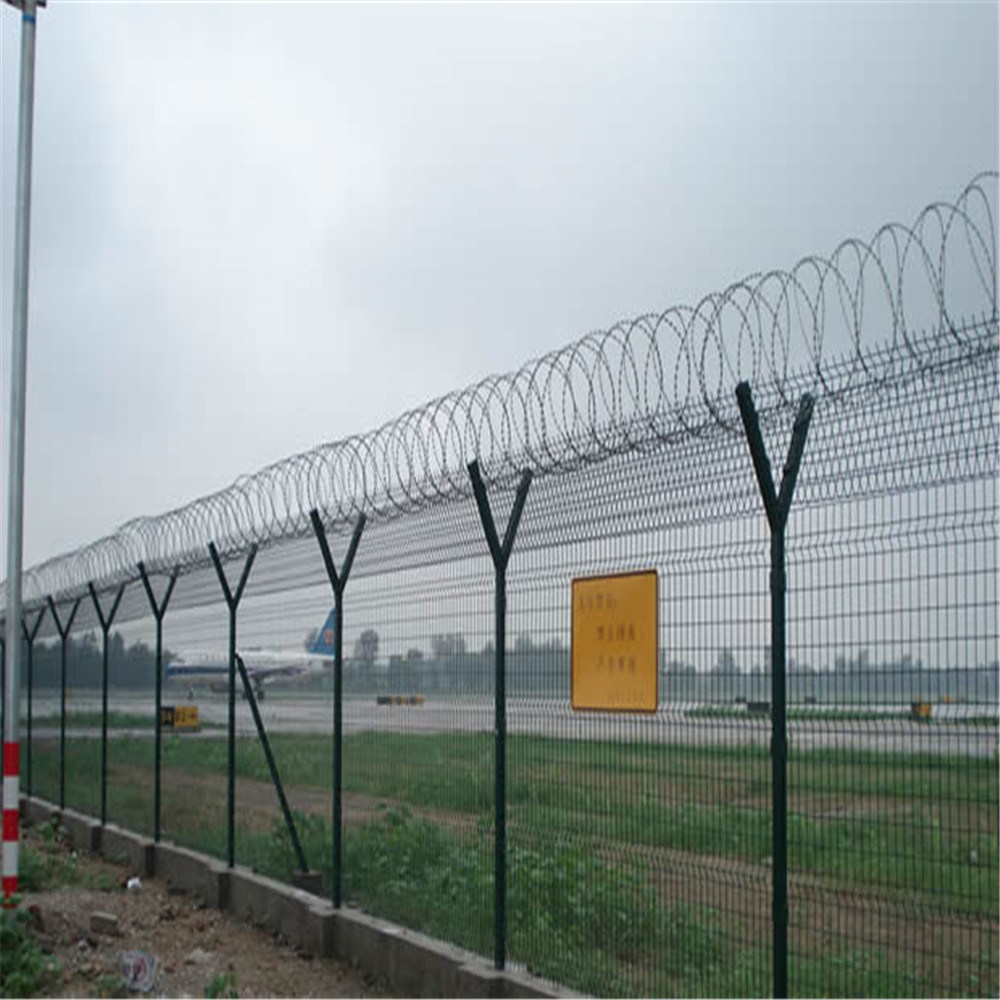 PVC Coated Wire Mesh Fence for Highway and Railway