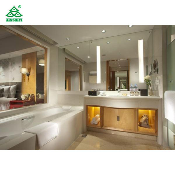 China King Size Commercial Hotel Furniture Luxury Bedroom