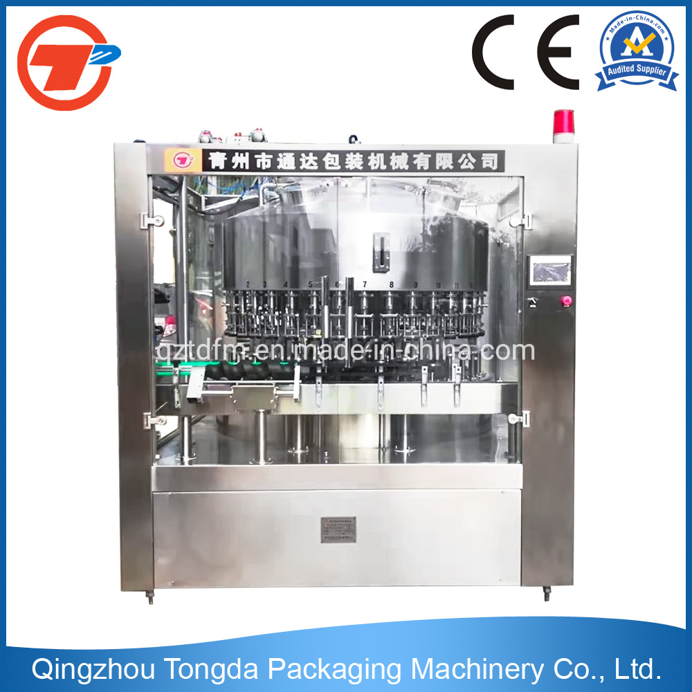 Automatic Liquid Glass Bottle Wine/Liquor/Alcohol/Spirit/Drink/Beverage Filling Bottling Machine