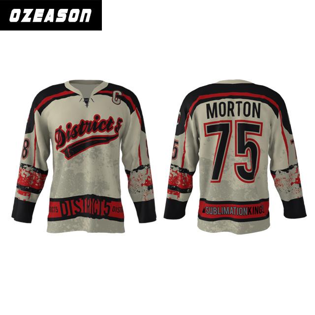 China Wholesale Professional Customized Dye Sublimated Hockey ...