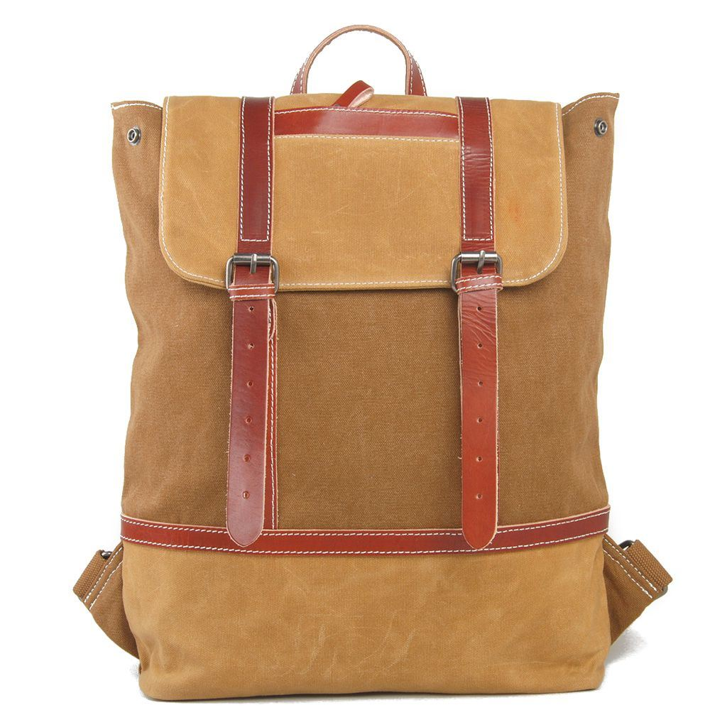 a520203c7c China Leather Canvas Student School Bag College Laptop Backpack (RS2009B) -  China School Bag