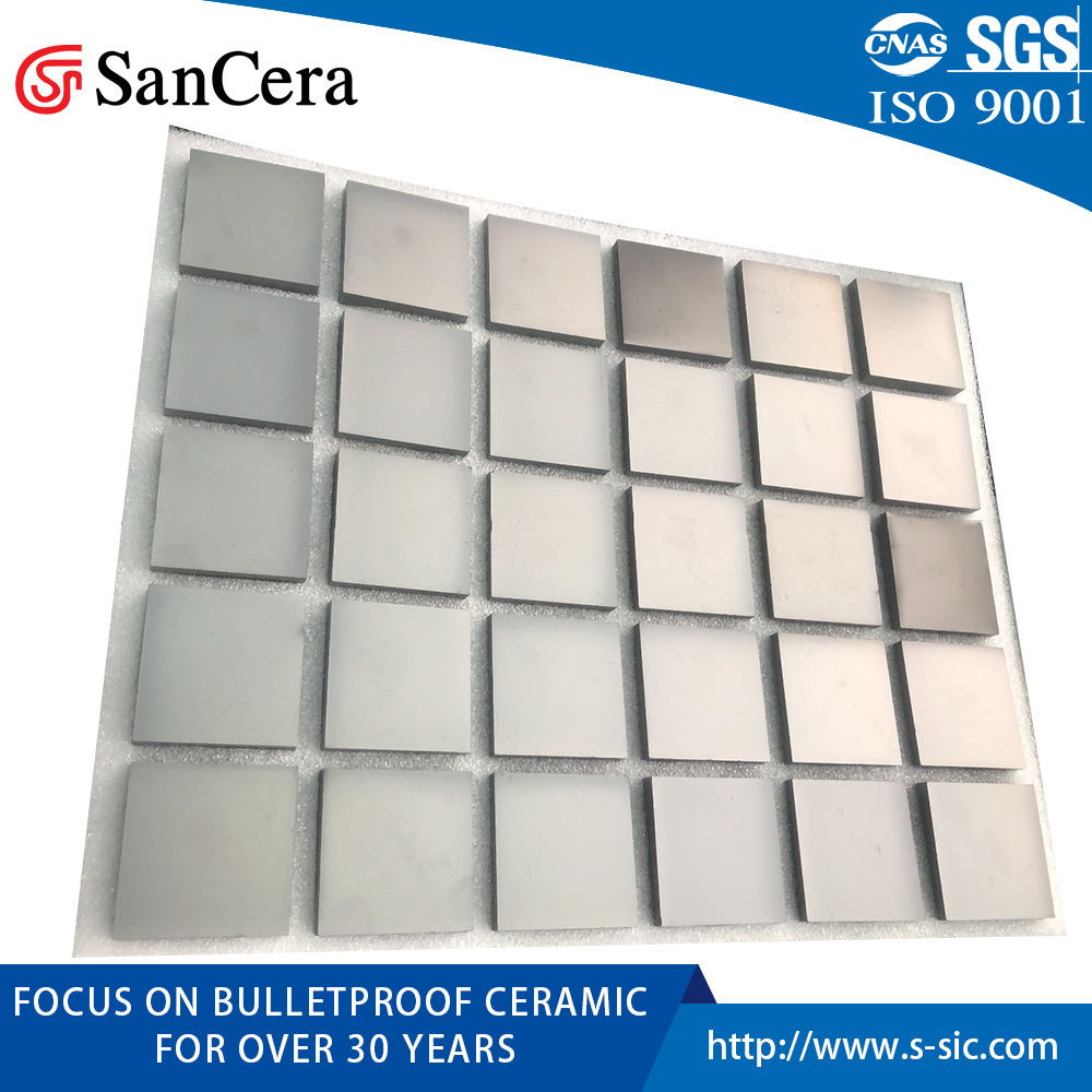 Bulletproof Silicon Carbide Granulated Ceramics Powders for Sic Product Production pictures & photos
