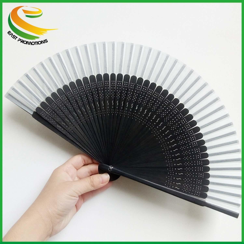 Black Folding Hand Fan Lace Spanish Gothic Victorian Party Favor Fancy Dress
