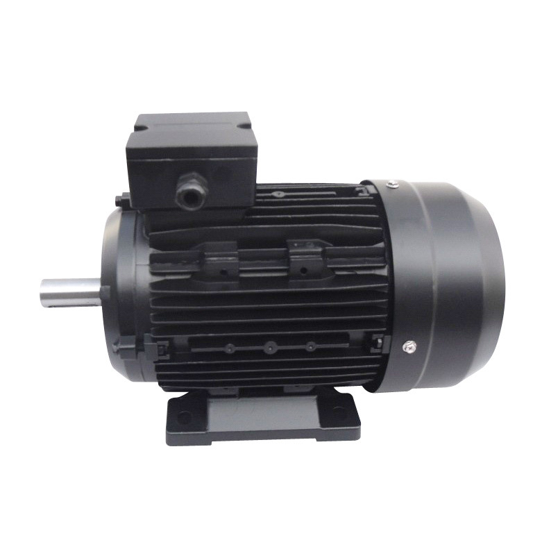 IE2 High Efficiency Three Phase Electric Motor (Black, Aluminum)