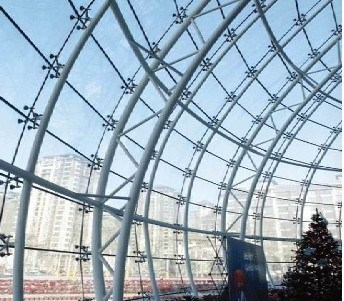 Curtain Wall Glass Panel Construction