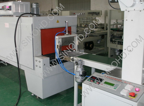 Automatic PE Film Shrink Wrapping Machine pictures & photos