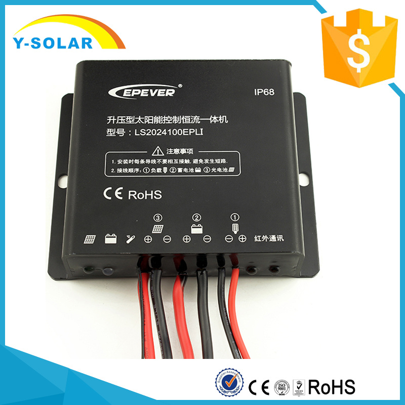 [Hot Item] Epsolar 12V/24V 20A Waterproof-IP68 Mobile-APP Solar  Charger/Diacharger Controller Ls2024100epli