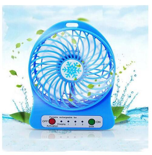 Portable Rechargeable USB Mini Fan/Cooling Fan/Desk Fan pictures & photos