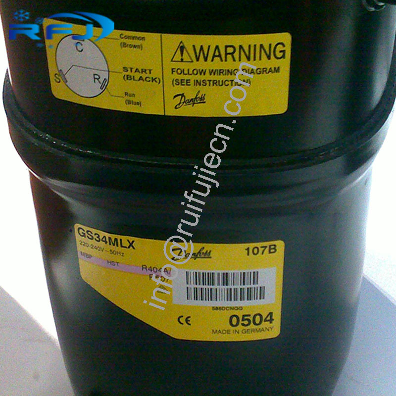China R134A Secop Refrigerator Compressor GS34mlx - China ... on