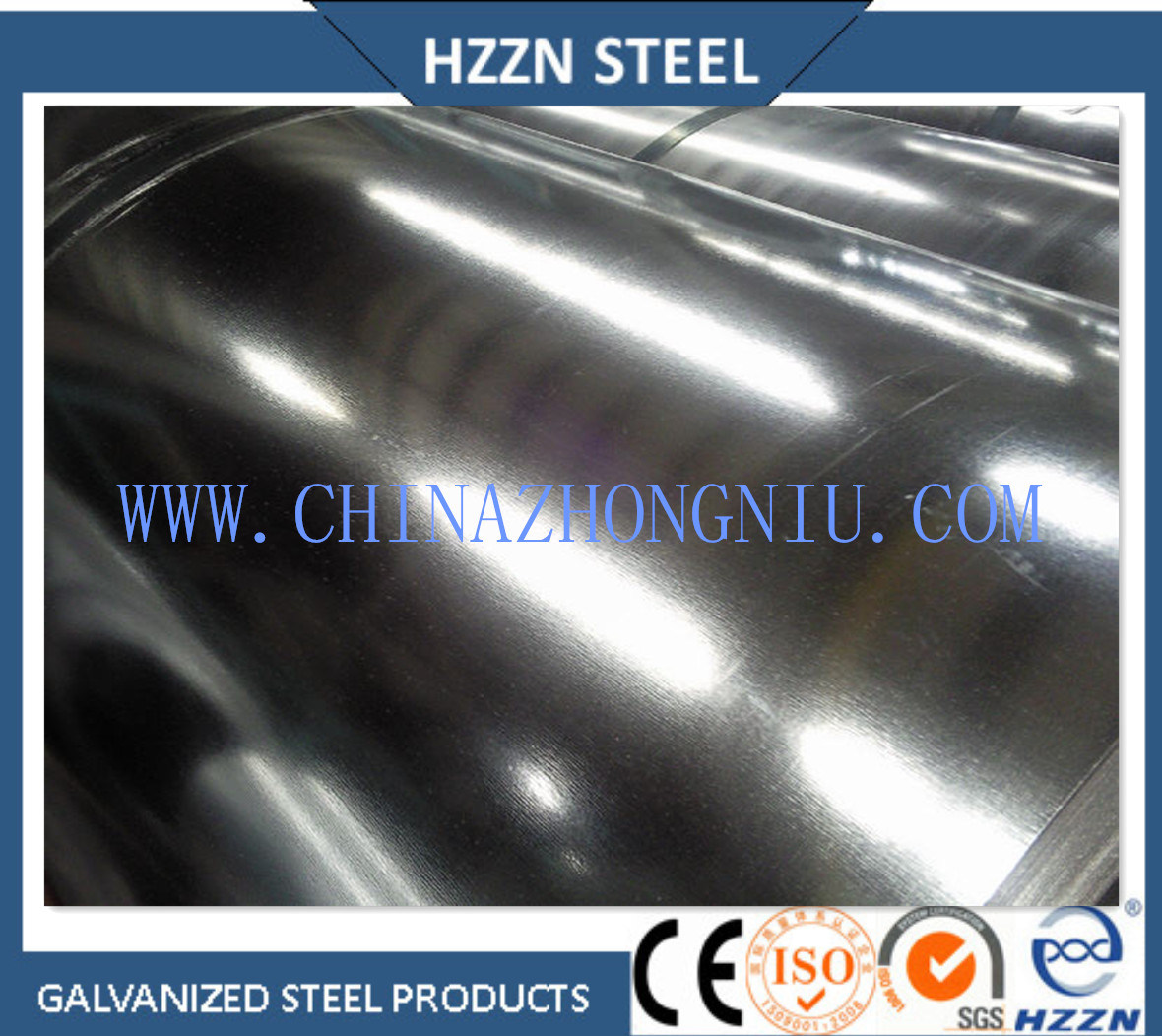 Galvanized Steel Coil with Dx51d Z180