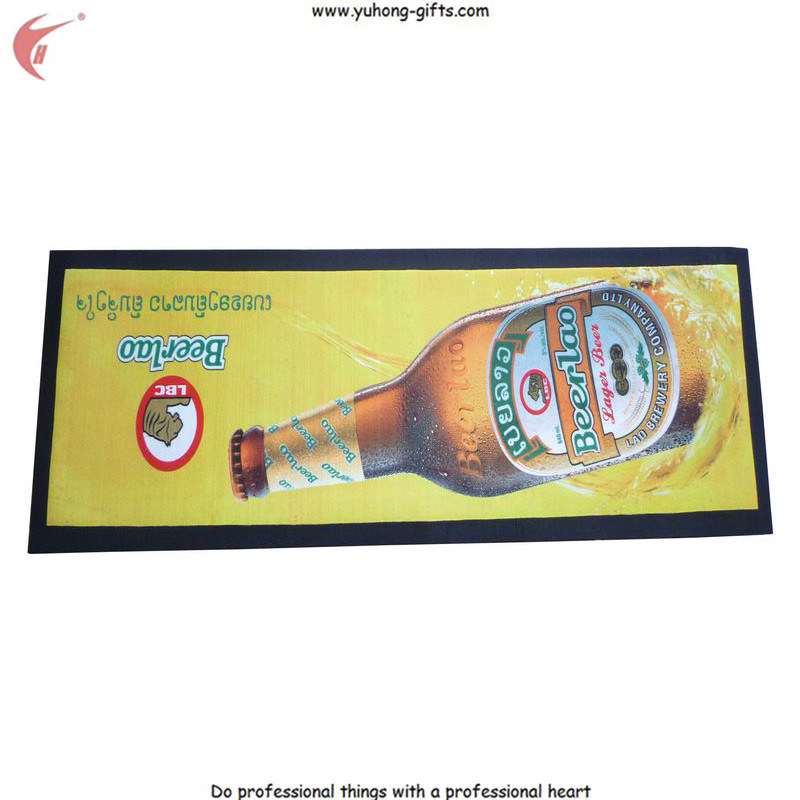 Non Woven Fabric Beer Bar Runner for Promotion (YH-BM027) pictures & photos