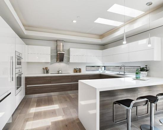 China White Piano Bakes Lacquer Kitchen Cabinet China Kitchen