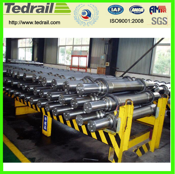 Railway Axles and Wheels, Railway Parts, Casting Parts pictures & photos