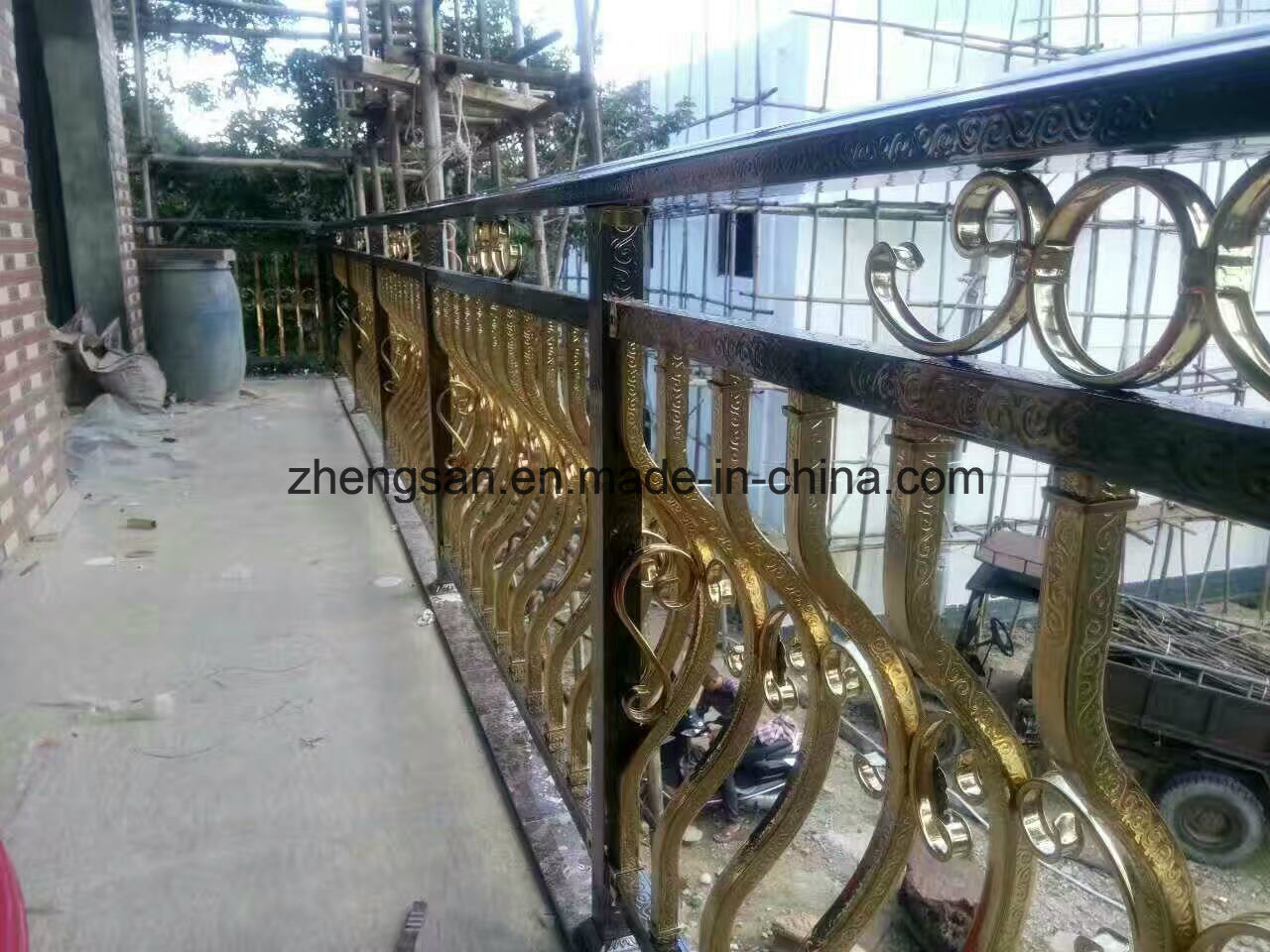 Professional Manufacturer 304 Corlored Stainless Steel Fence