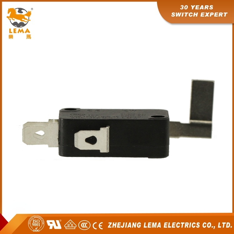 Customized Lema Kw7-7 UL Approved Lever Sensitive Electric Micro Switch