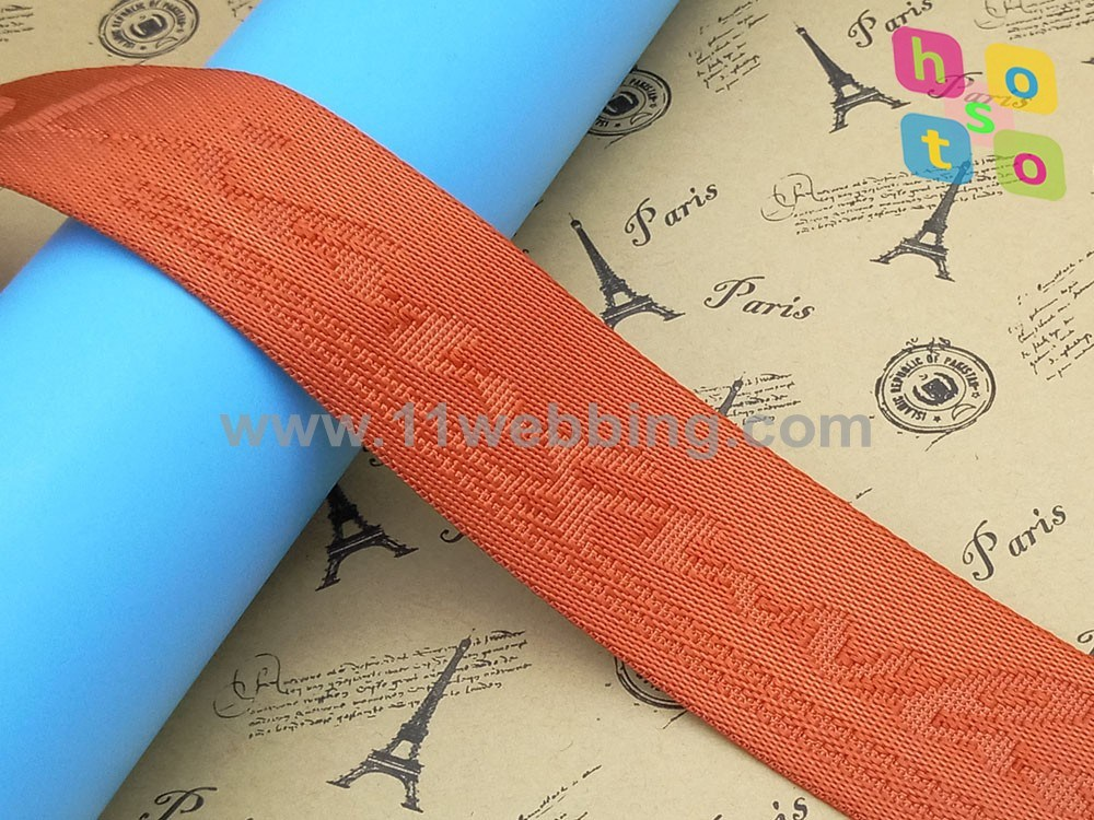 High Quality Jacquard Polyester Nylon Webbing for Bags Garment Belt pictures & photos