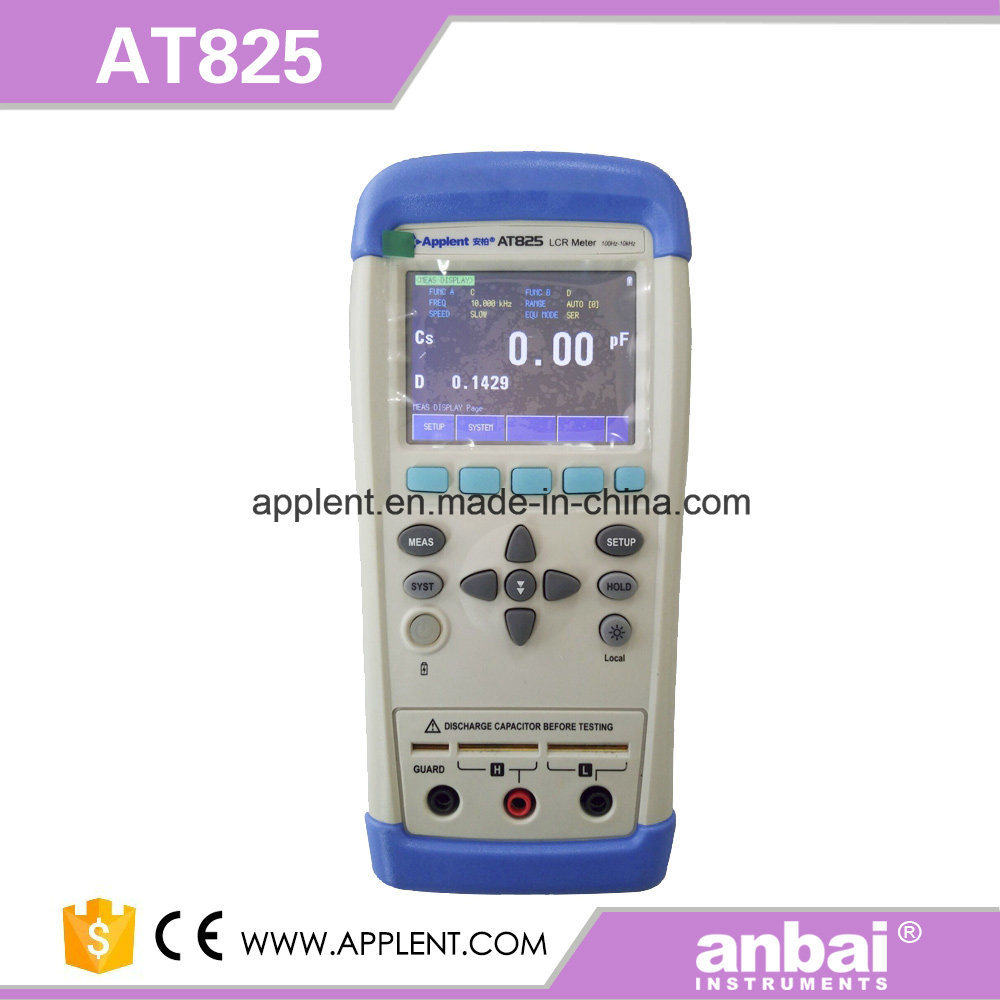 Handheld Digital Lcr Meter for Components (AT826)
