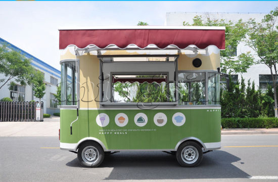 China Fried Chicken Electric Mobile Food Truck China Food Truck