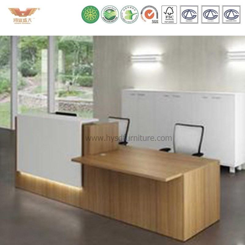 Modern China Supplier Simple Design Cheap Reception Desk