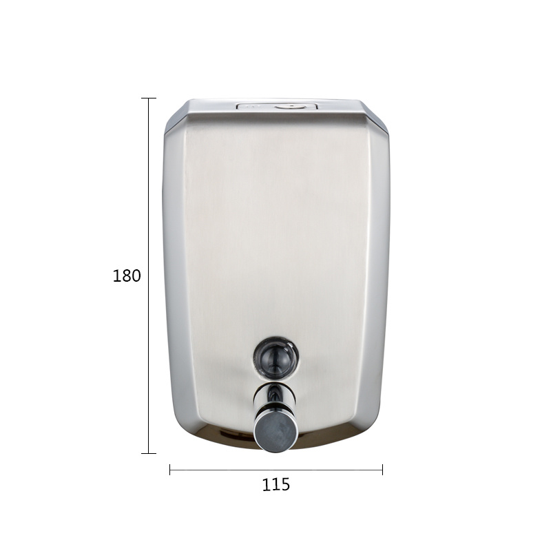 SUS304 Brass Body Hand Liquid Soap Dispenser pictures & photos