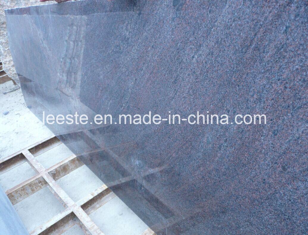 China Hottest & Cheap Granite Polished Juparana Purple Granite Low ...