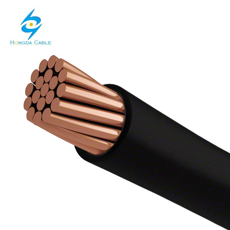 China 4/0 AWG Electrical Wire Stranded Copper Electrical Wire ...