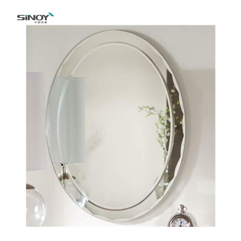 China Large Oval Full Length Mirror Vanity Beveled Bathroom Wall Mirror China Large Mirror Oval Mirror