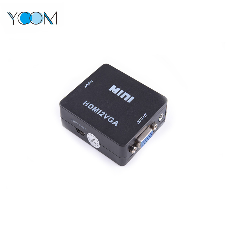 YCOM HD Video Converter 1080P HDMI 2AV White Converter pictures & photos
