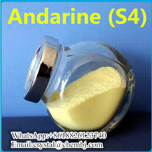 [Hot Item] 99% Purity Sarms S4 S-4 Andarine Powder for Bodybuilding  401900-40-1