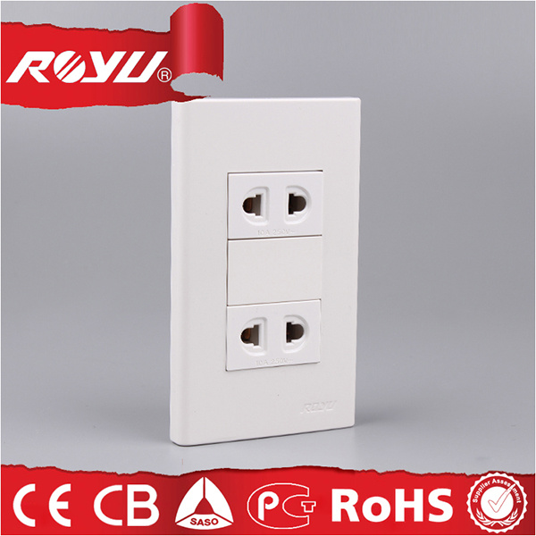 China 2-Pin Plug Universal Wall Electrical Switch Socket for Home ...
