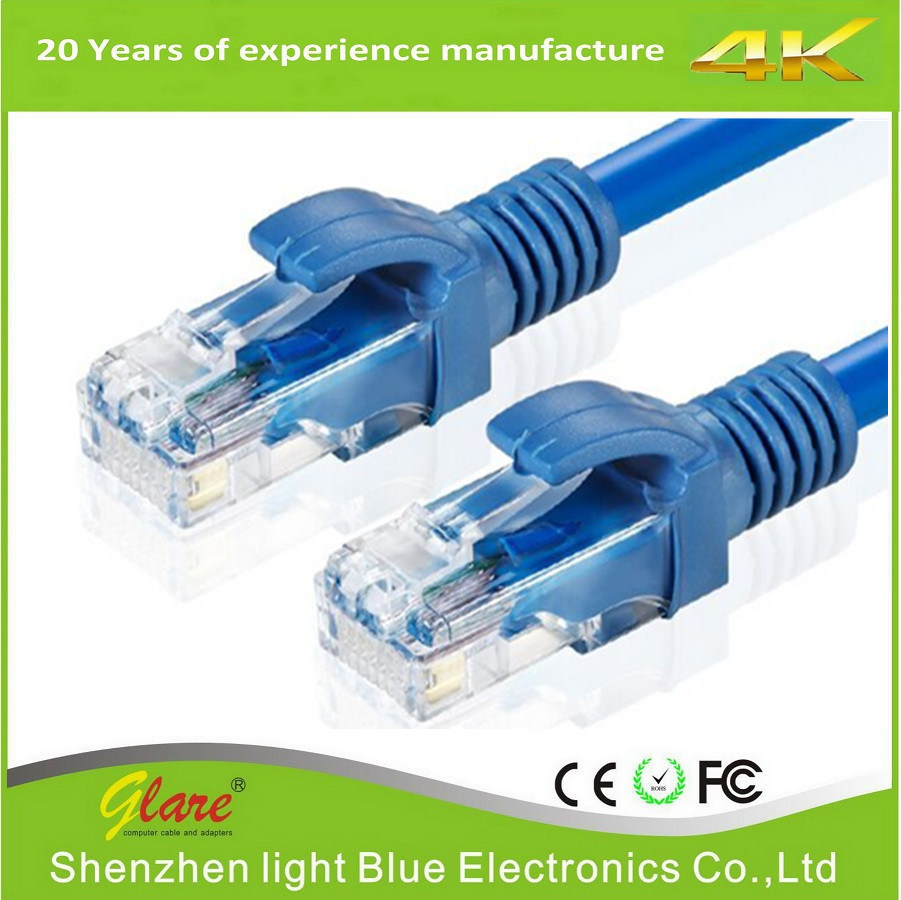 China 24AWG Bare Copper UTP CAT6 Cable - China Communication Cable ...