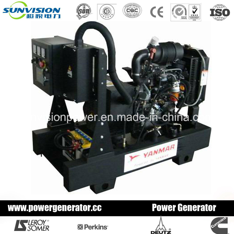 China Yanmar Generator 12kVA Diesel Generator with Japan Engine