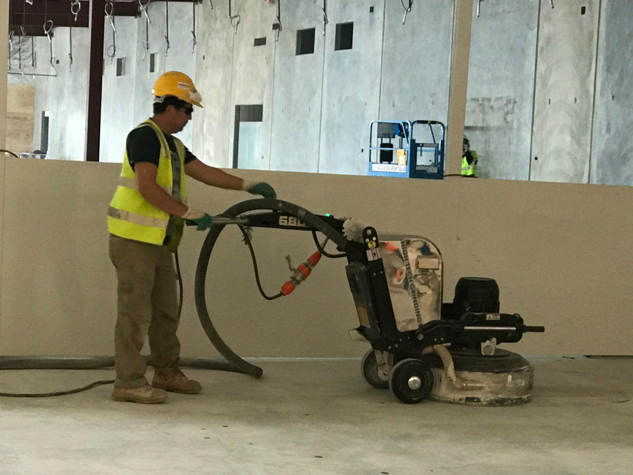 China 680mm Working Width Terrazzo Floor Polishing Machine