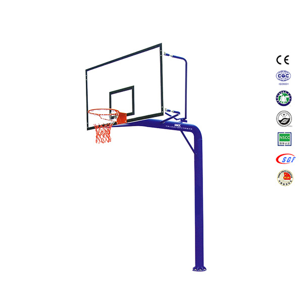 Wholesale Outdoor in-Ground SMC Backboard Basketball Pole for Driveway pictures & photos