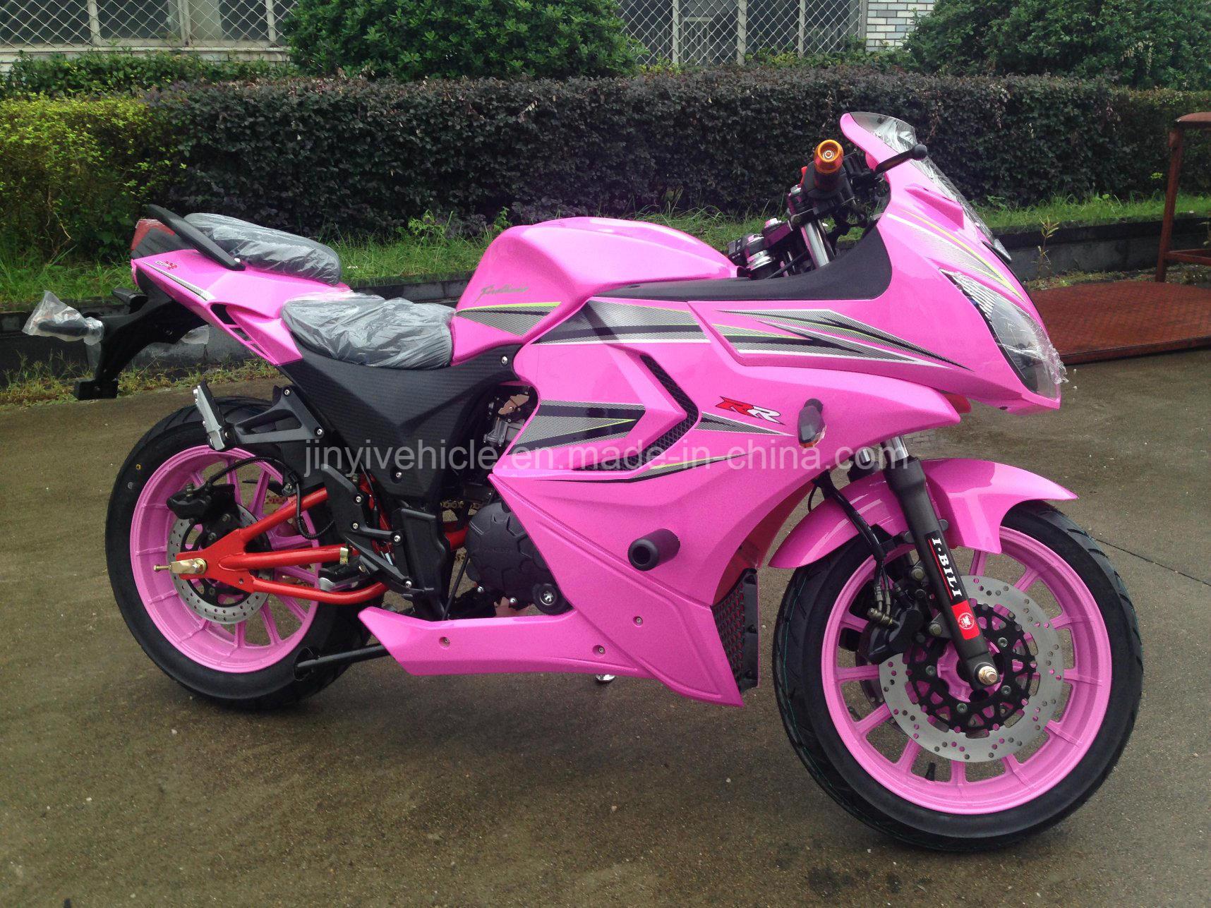 motorcycle pink bike racing motorbike sport speed 200cc 250cc china