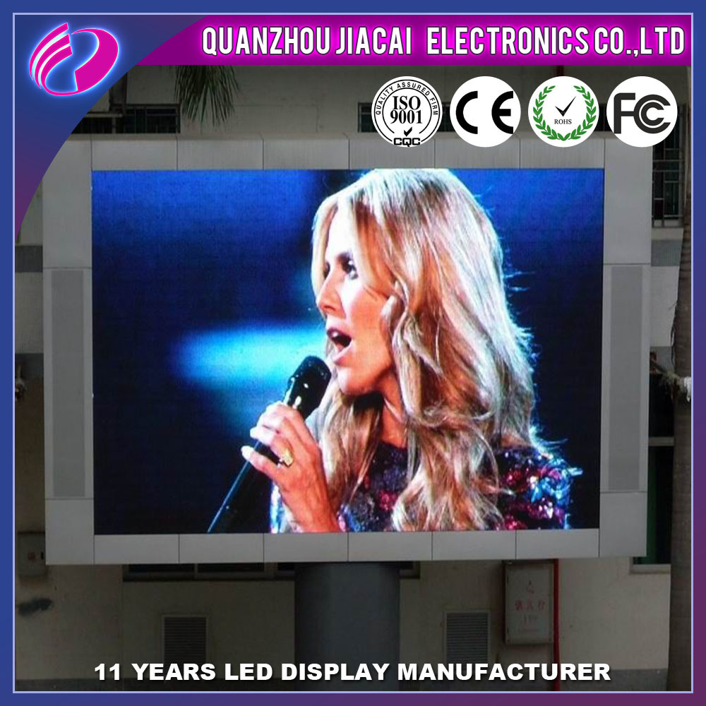 Low Price Full Color P8 Outdoor Jumbo Circle P8 LED TV Screen