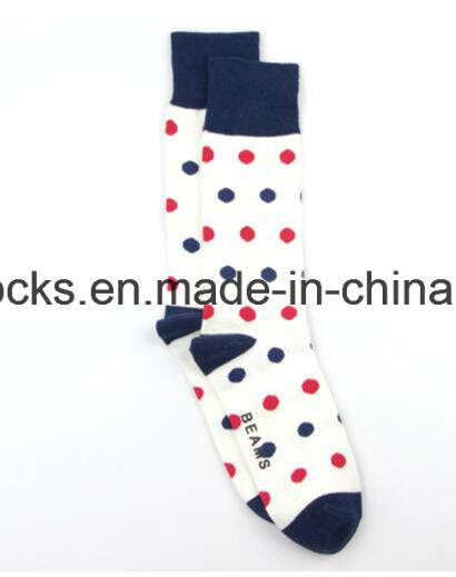 Happy Socks with Colorful Patterns Custom Logo Men Socks pictures & photos